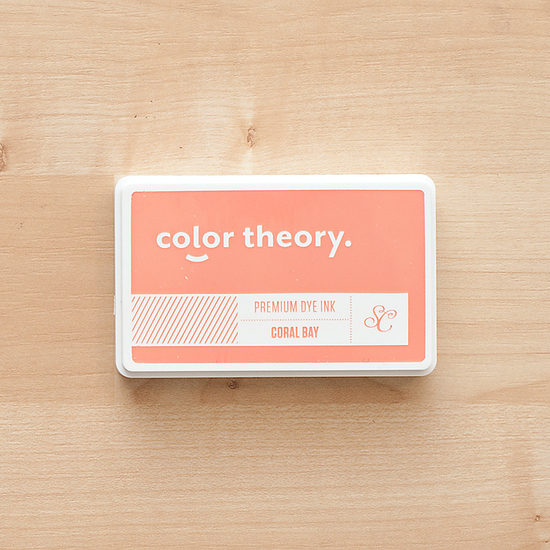 Color Theory Ink Pad - Coral Bay