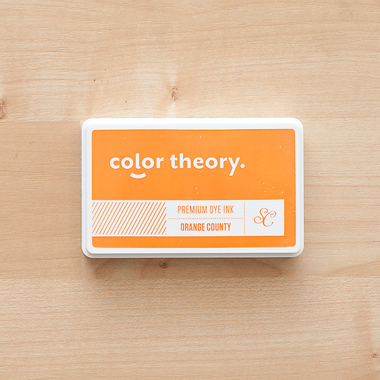 Color Theory Ink Pad: Orange County