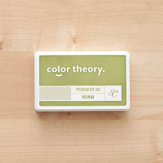 Color Theory Ink Pad - Yes Peas