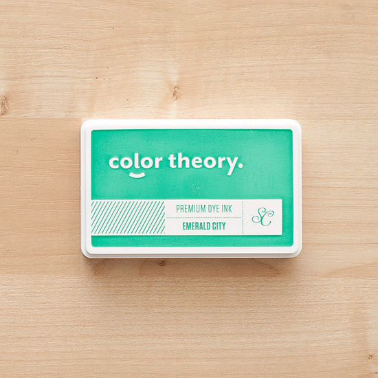 Color Theory Ink Pad:  Emerald City