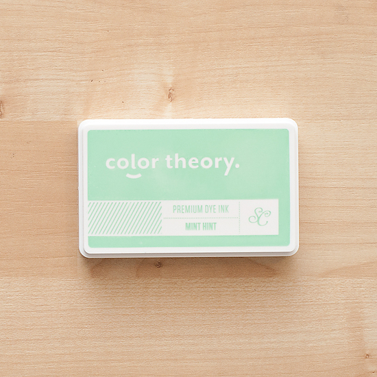 Color Theory Ink Pad : Mint Hint