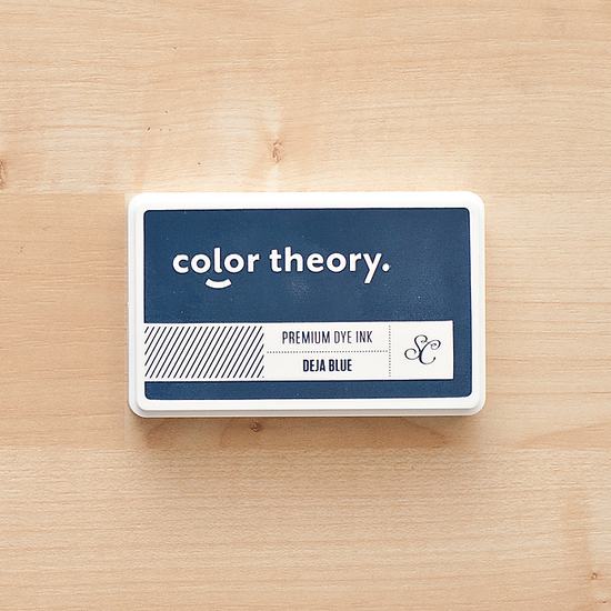 Color Theory Ink Pad : Deja Blue