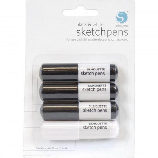 Black and White Sketch Pens