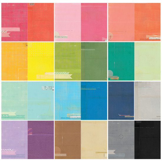 Color Theory 12x12 Paper Pack