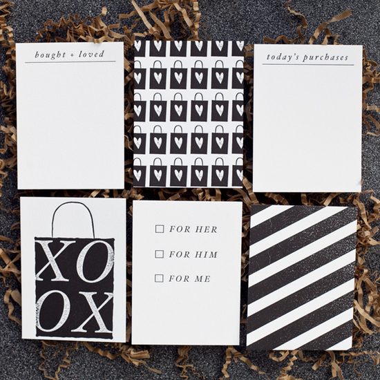 LifeLovePaper Letterpress Card Set