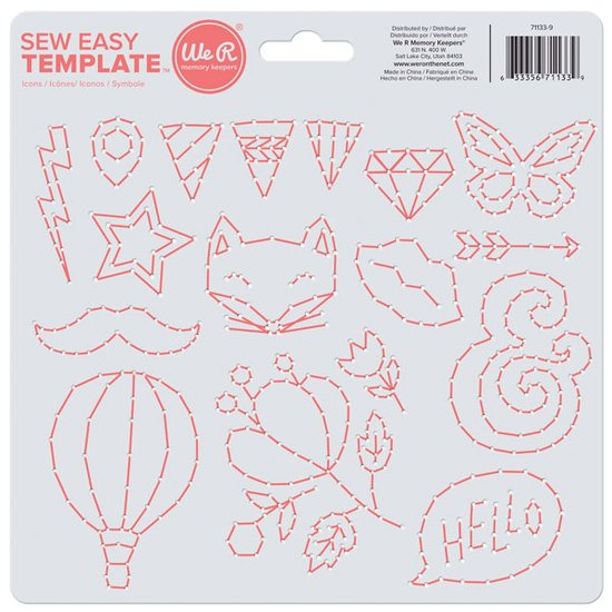Sew Easy Template: Icon
