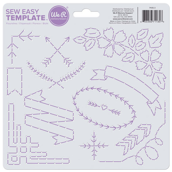 Sew Easy Template: Flourish