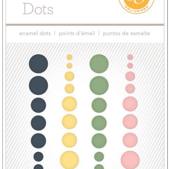South of Market Enamel Dots