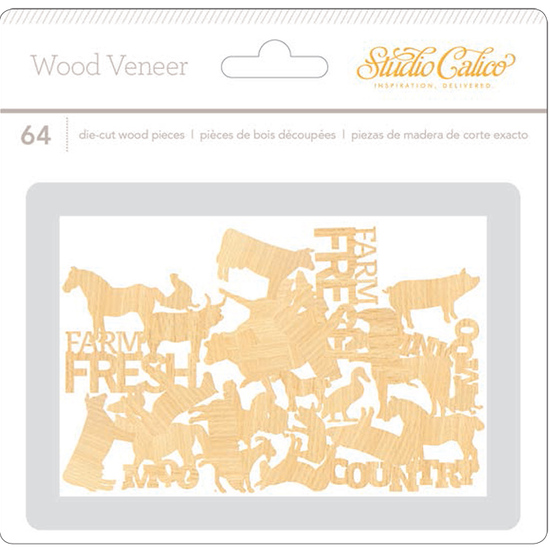 South of Market Wood Veneer- Animals