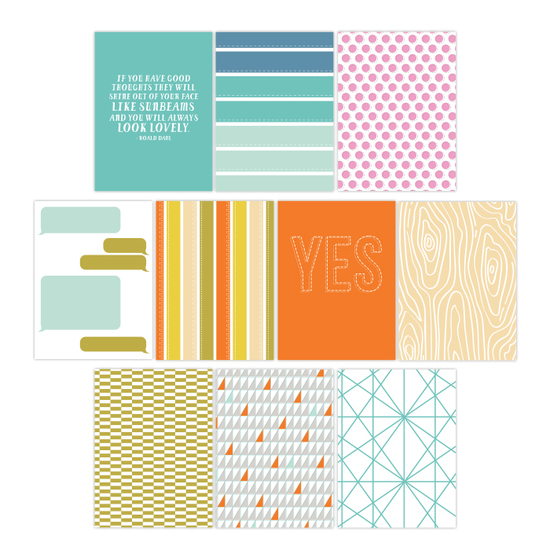 Summertime Journal Cards