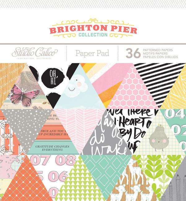 Picture 1 of Brighton Pier 6x6 Paper Pad