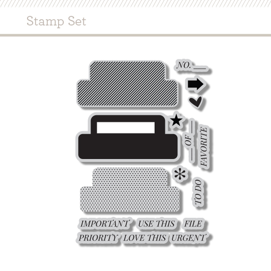 Stamp Set: Tab by Hello Forever