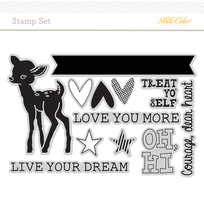 Picture 1 of Stamp Set: Live Your Dream