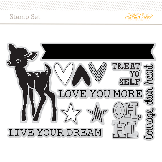Stamp Set: Live Your Dream