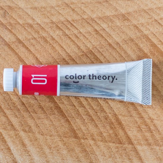 Color Theory Acrylic: Well Red