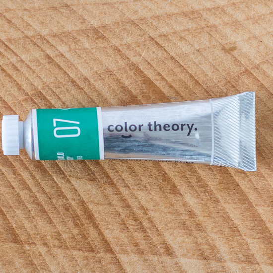 Color Theory Acrylic: Emerald City