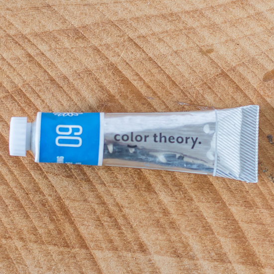 Color Theory Acrylic: Something Blue