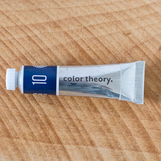 Color Theory Acrylic: Deja Blue