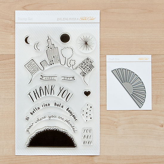Craft Die & Stamp Set: Howdy