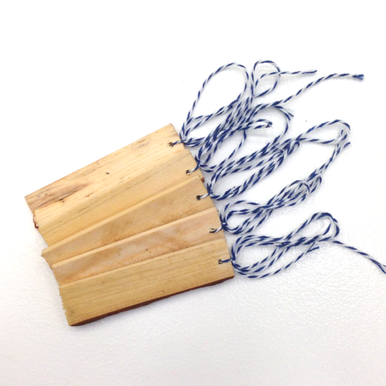 Wood Banner Tags