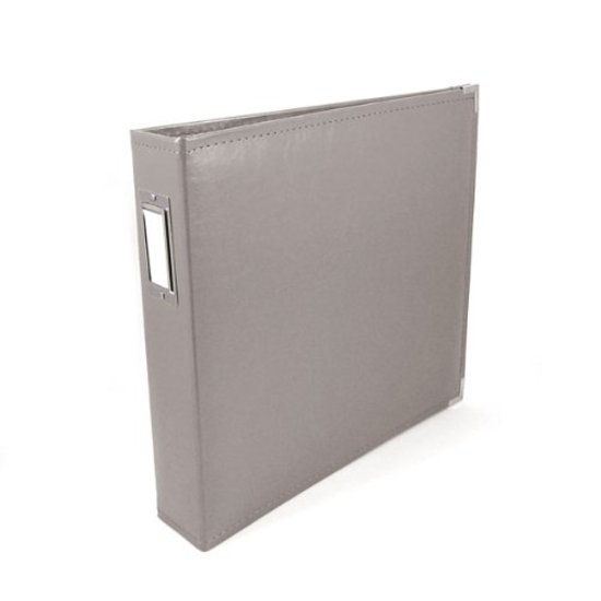 Album: 12x12 Charcoal Grey Classic Leather Album by WRMK
