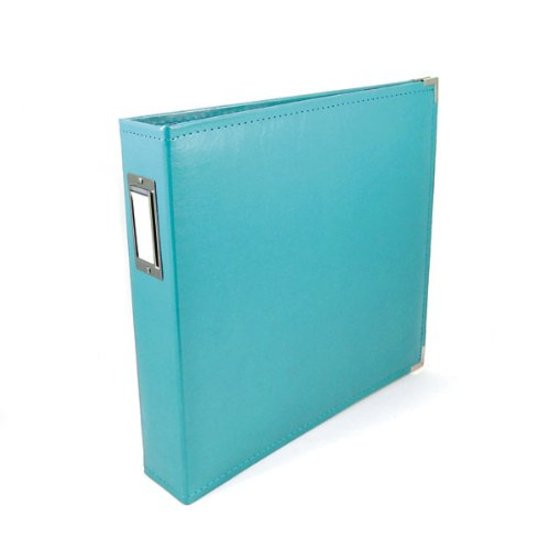 Album: 12x12 Aqua Classic Leather Album by WRMK