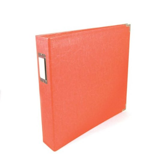 Album: 12x12 Coral Classic Leather Album by WRMK