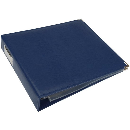 Album: 12x12 Cobalt Classic Leather Album by WRMK