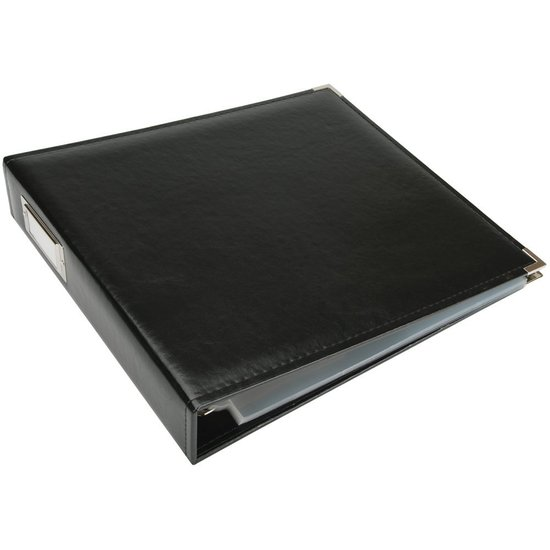 Album: 12x12 Black Classic Leather Album by WRMK
