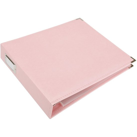 Album:12x12 Pretty Pink Classic Leather Album by WRMK