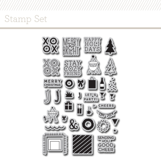 Stamp Set : Holiday House