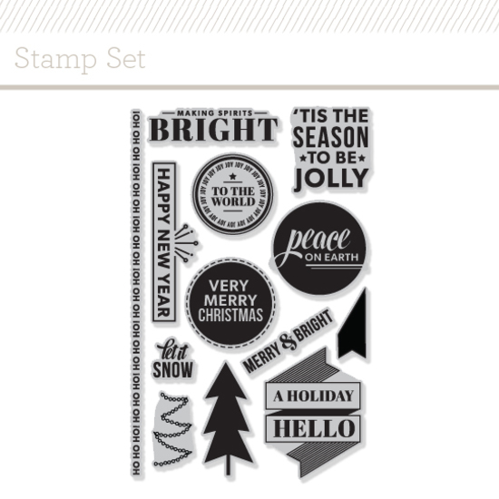 Stamp Set : Holiday Hello by Kelly Purkey