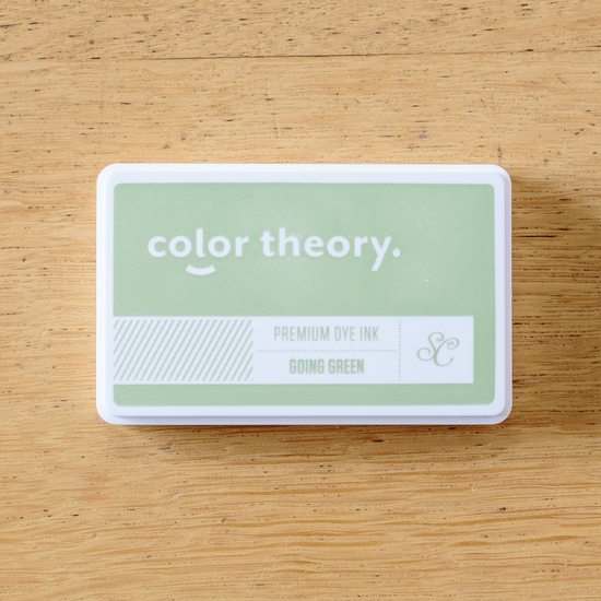 Color Theory Ink Pad: Going Green