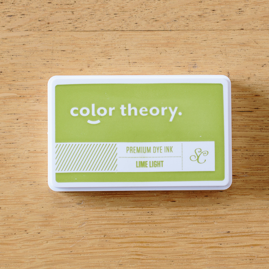 Color Theory Ink Pad: Lime Light