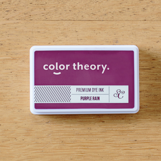 Color Theory Ink Pad: Purple Rain