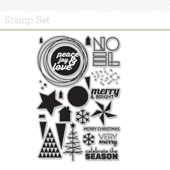 Stamp Set: Very Merry by JJ Bolton