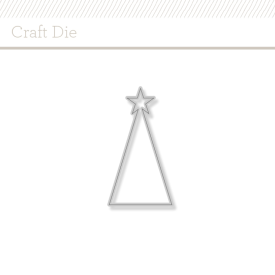 Craft Die : O Christmas Tree