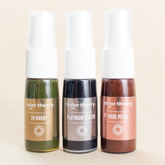 Metallic Mini Mist Trio