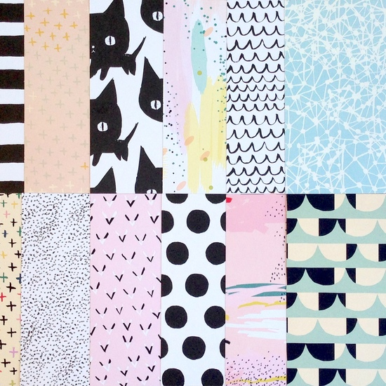 Ashley Goldberg 12 Patterned Pages