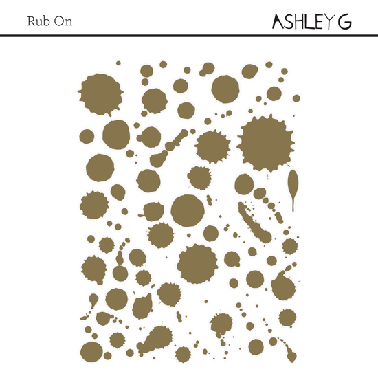 Ashley Goldberg Gold Splattered Rubon