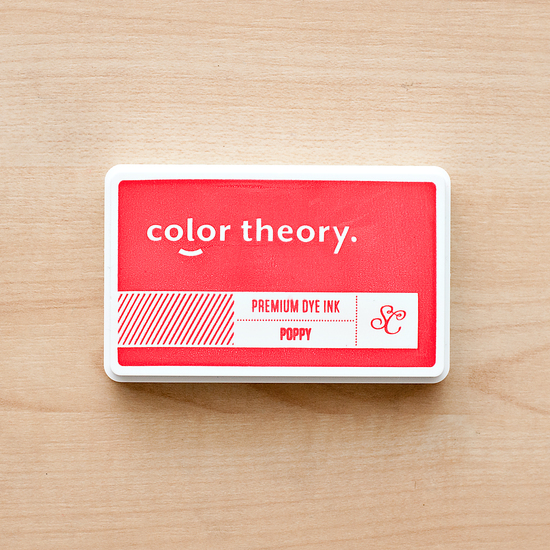 Color Theory Ink Pad: Poppy