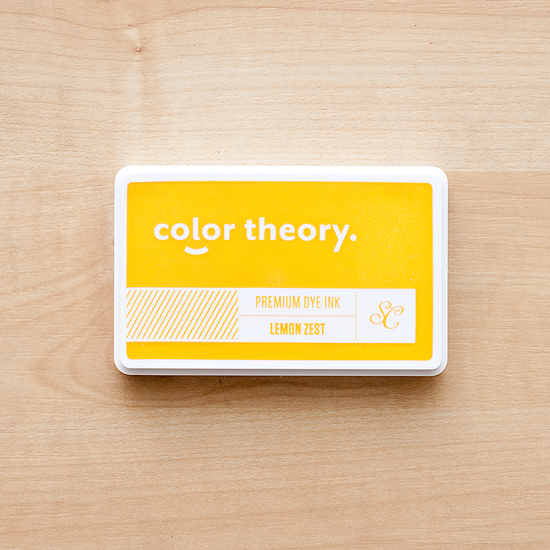 Color Theory Ink Pad: Lemon Zest