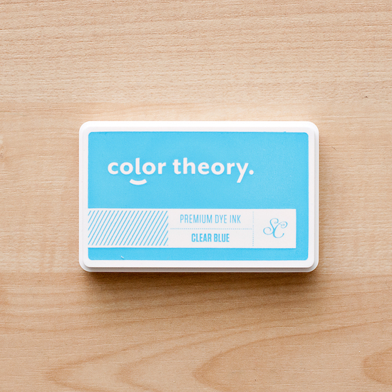 Color Theory Ink Pad: Clear Blue
