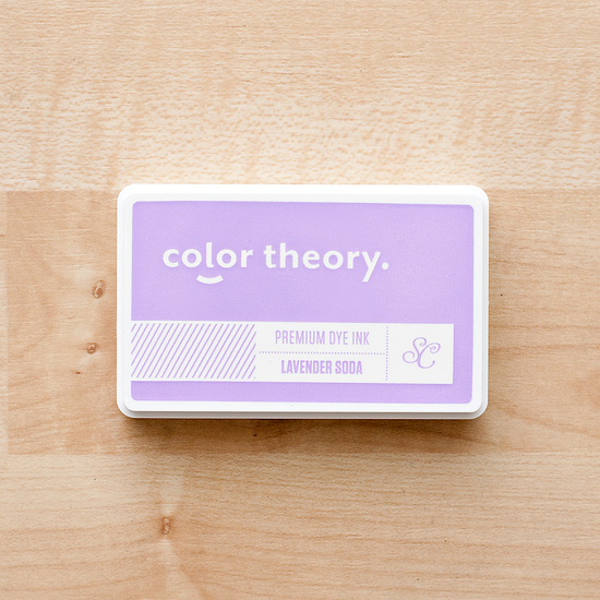 Color Theory Ink Pad: Lavender Soda