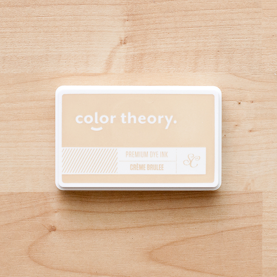 Color Theory Ink Pad: Creme Brulee