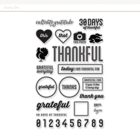 Stamp Set: Thankful by Cathy Zielske