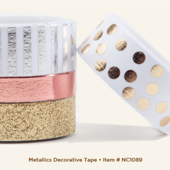 Washi tape: Gold Glitter by MME