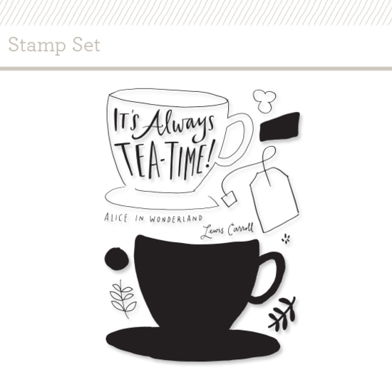 Stamp Set: Tea Time