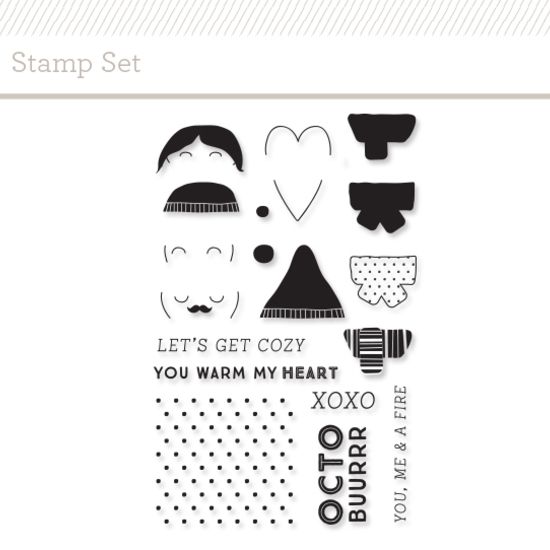 Stamp Set: Scarf