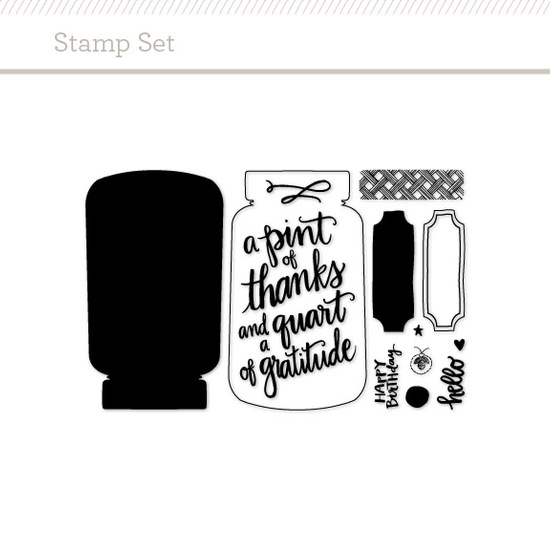 Stamp Set: Jar